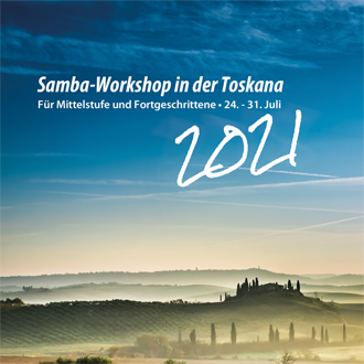 Flyer - Samba Workshop in der Toskana 2016